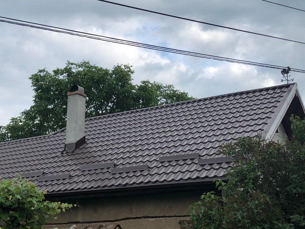 Acoperis casa cu tigla metalica Clasica, Localitatea Balan, Jud. Sălaj TectumSteel Cluj-Napoca