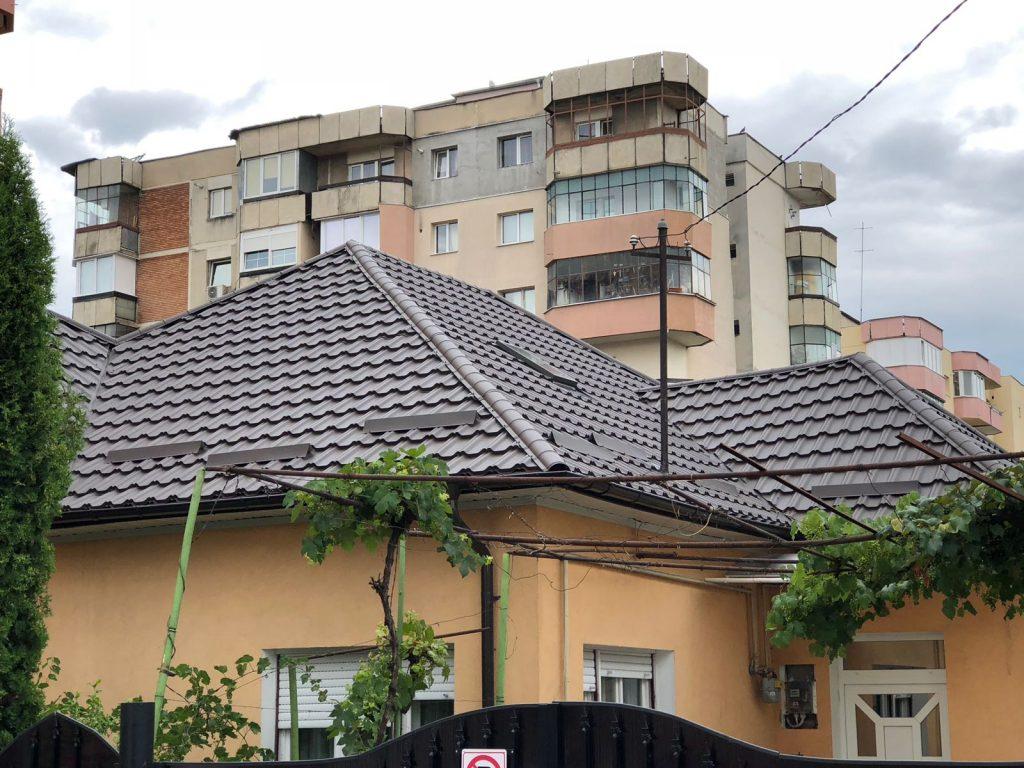 Acoperis casa din tiglă metalică Celesta, 0.5mm TectumSteel Cluj-Napoca