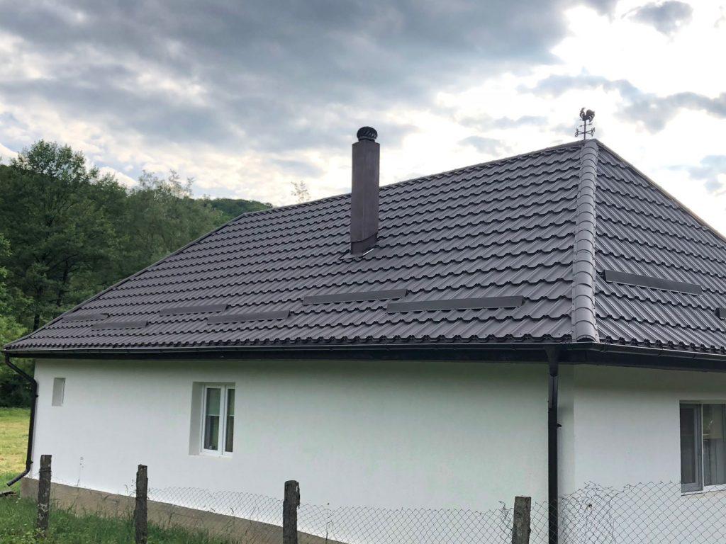 Acoperis cu tigla metalica Celesta – Localitatea Surduc, Jud Sălaj TectumSteel Cluj-Napoca